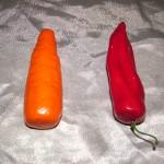 Dildo morcov, dildo ardei pentru ass play umilitor