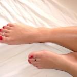 Picioare de Ezada